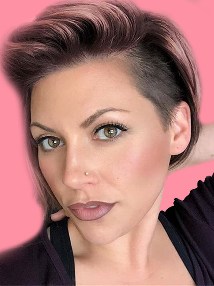 22+ Stunning Short Edgy Pixie Hairstyles Designs and Cuts for this Summer 9