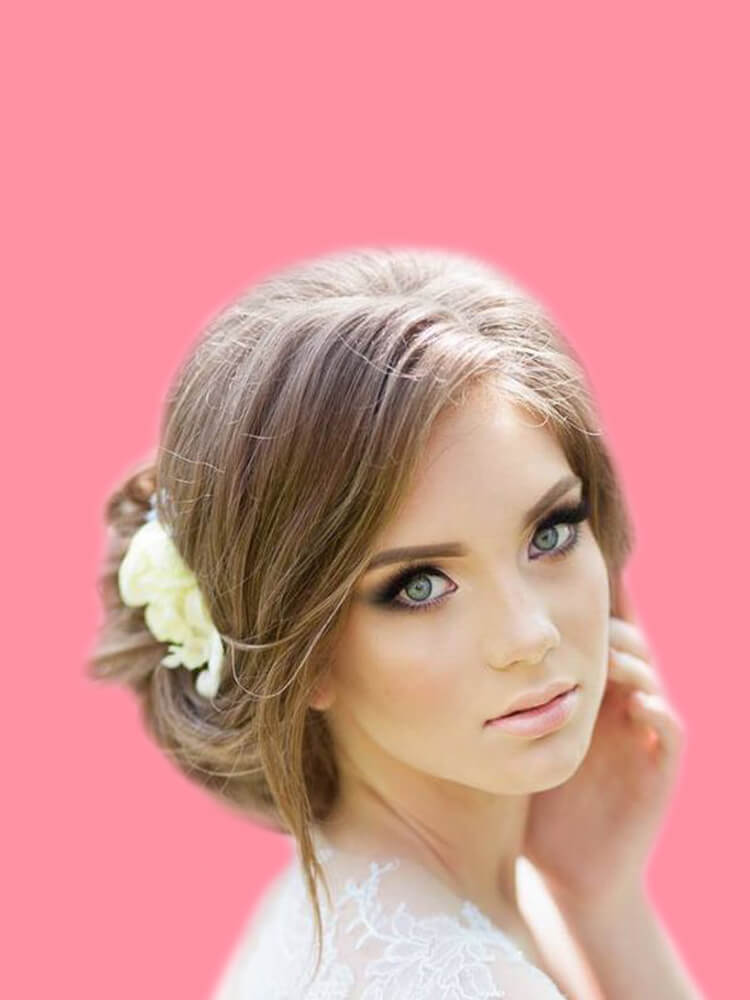 23 + Stunning Wedding Makeups and Hairstyles for Bride to try 12