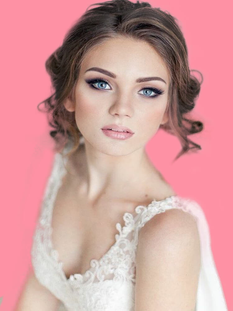 23 + Stunning Wedding Makeups and Hairstyles for Bride to try 17