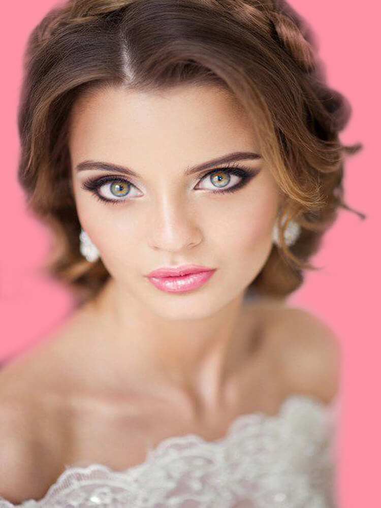 23 + Stunning Wedding Makeups and Hairstyles for Bride to try 19