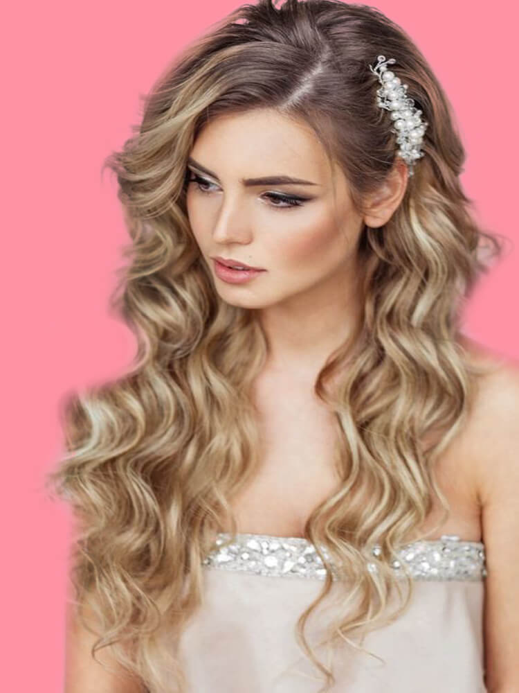 23 + Stunning Wedding Makeups and Hairstyles for Bride to try 20
