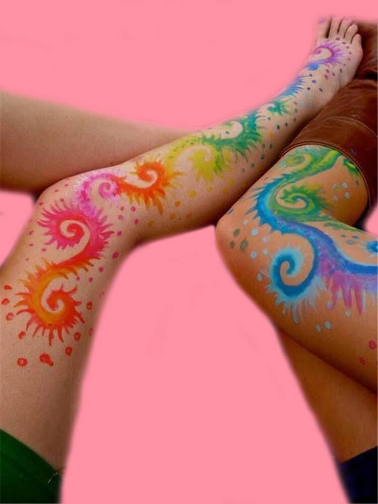 25+ Colorful Bold Body Painting Art Ideas for your Personality 23