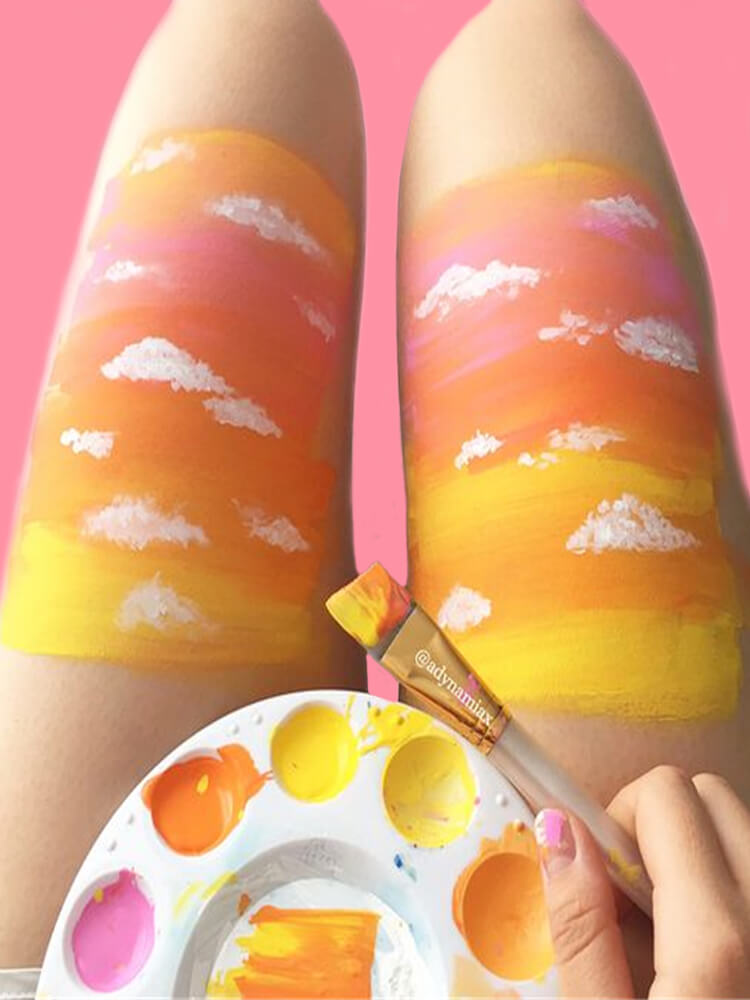 25+ Colorful Bold Body Painting Art Ideas for your Personality 4