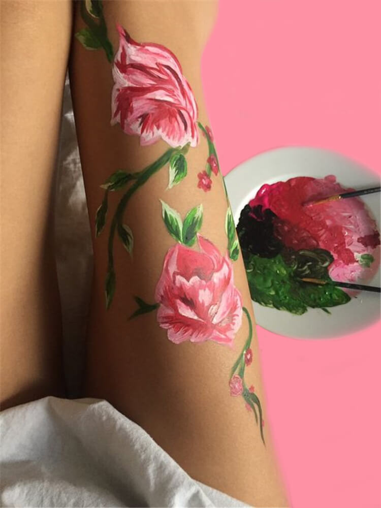 25+ Colorful Bold Body Painting Art Ideas for your Personality 8