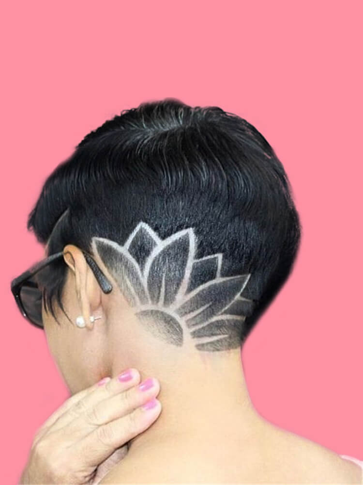 30+ Attractive Chic Undercut Hairstyles Designs to try this Summer 11