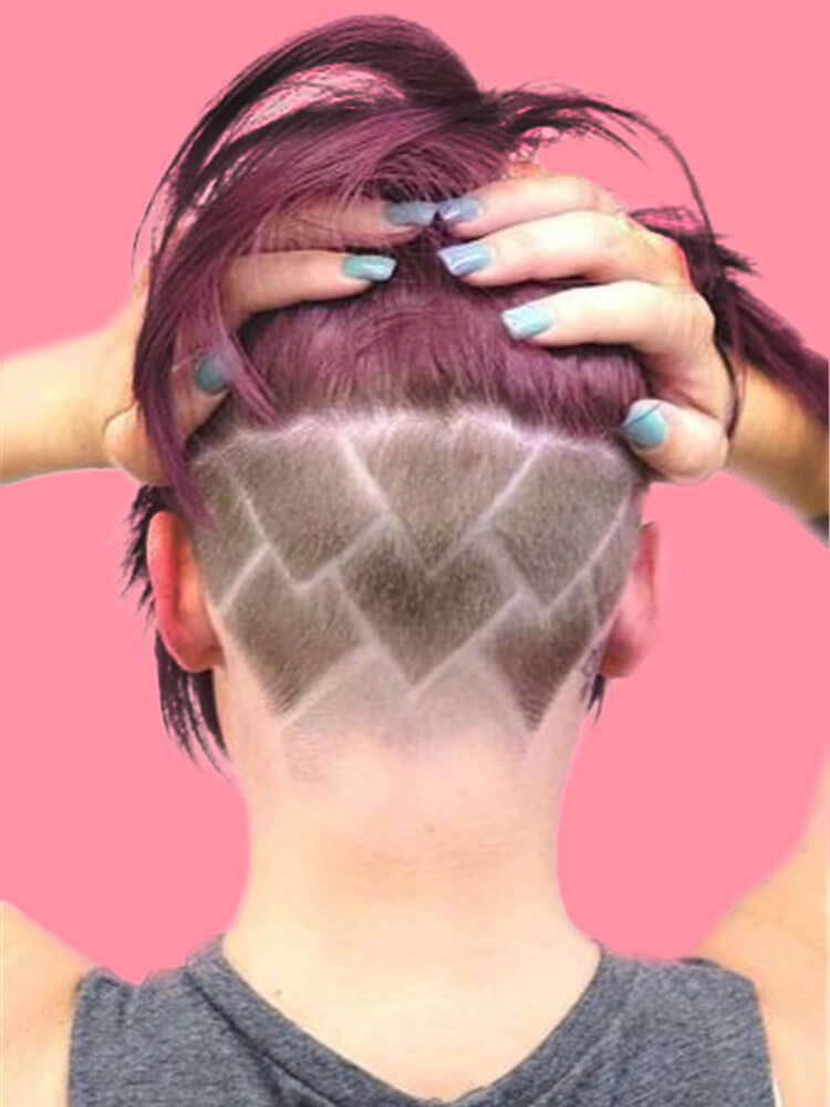 30+ Attractive Chic Undercut Hairstyles Designs to try this Summer 14