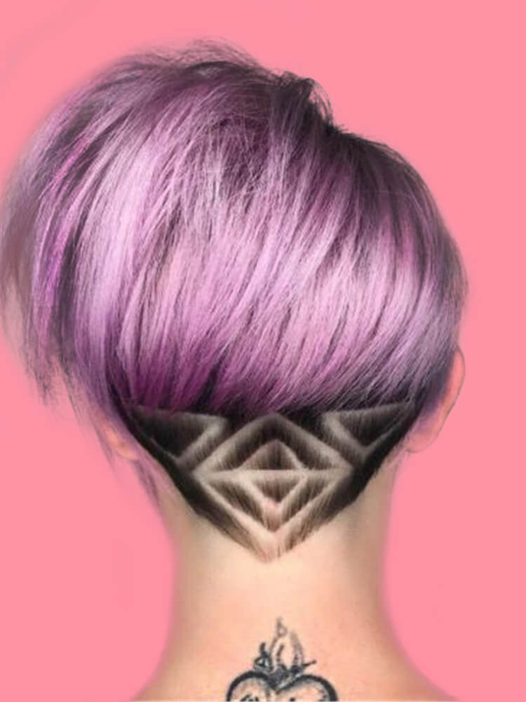 30+ Attractive Chic Undercut Hairstyles Designs to try this Summer 16