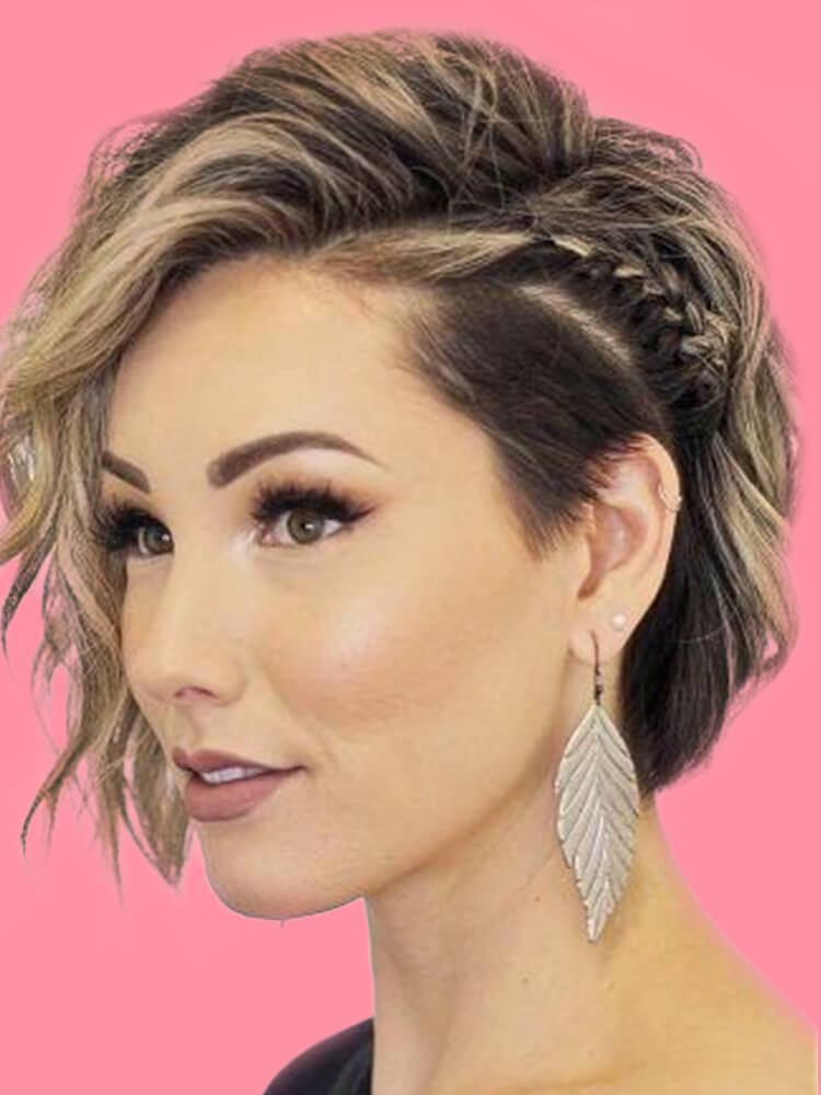 30+ Attractive Chic Undercut Hairstyles Designs to try this Summer - Page 19 of 30 - ShowmyBeauty