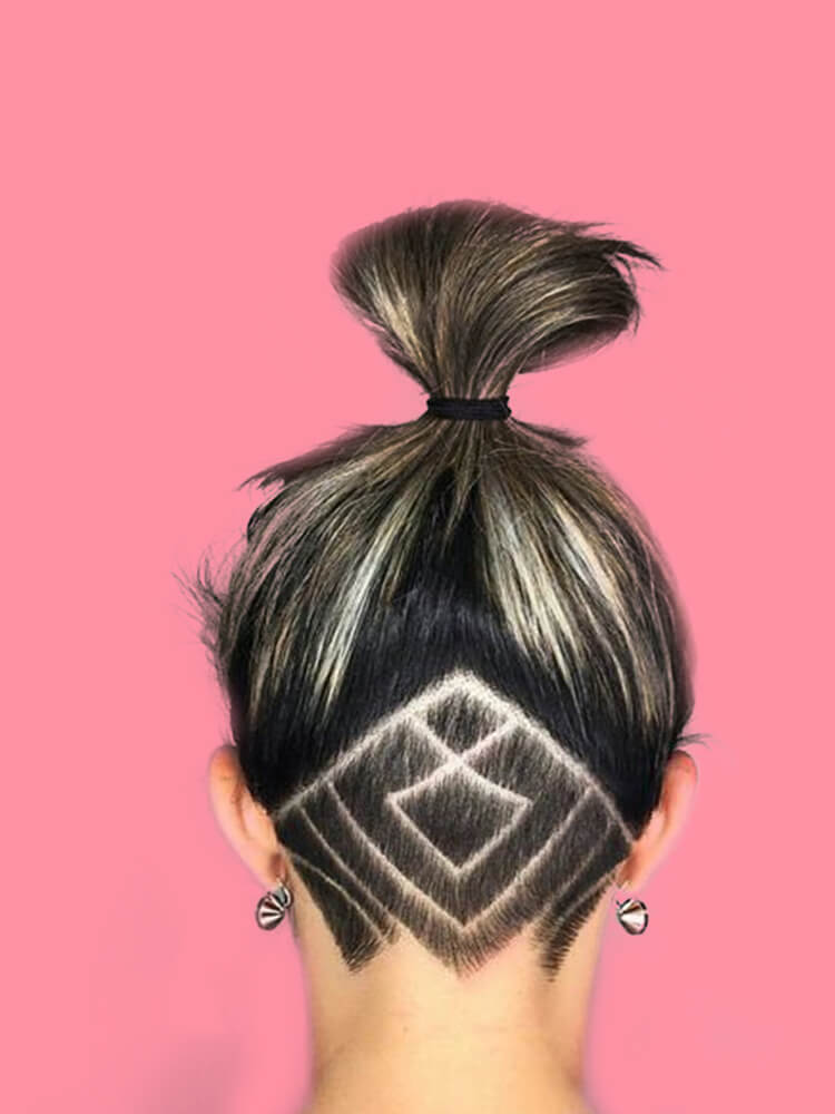 30+ Attractive Chic Undercut Hairstyles Designs to try this Summer 21