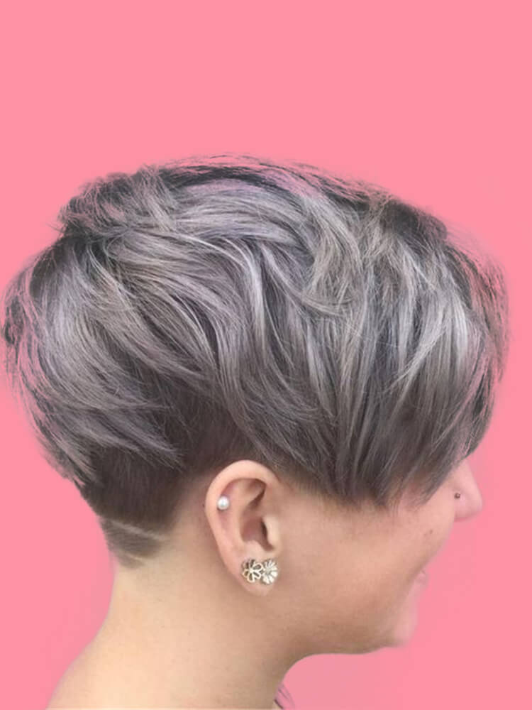30+ Attractive Chic Undercut Hairstyles Designs to try this Summer 23