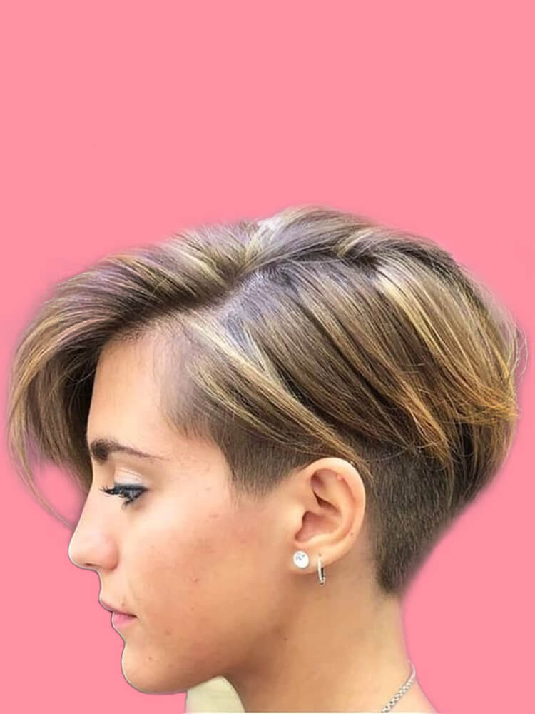 30+ Attractive Chic Undercut Hairstyles Designs to try this Summer 24