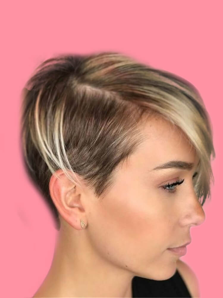 30+ Attractive Chic Undercut Hairstyles Designs to try this Summer 25