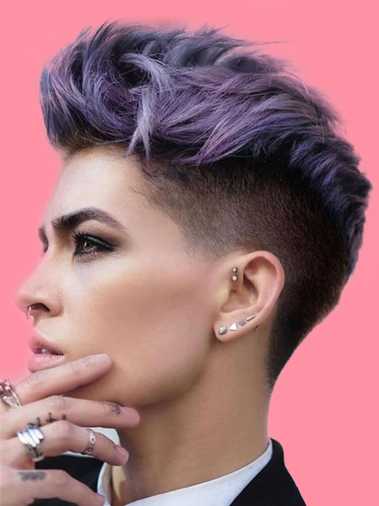 30+ Attractive Chic Undercut Hairstyles Designs to try this Summer 28