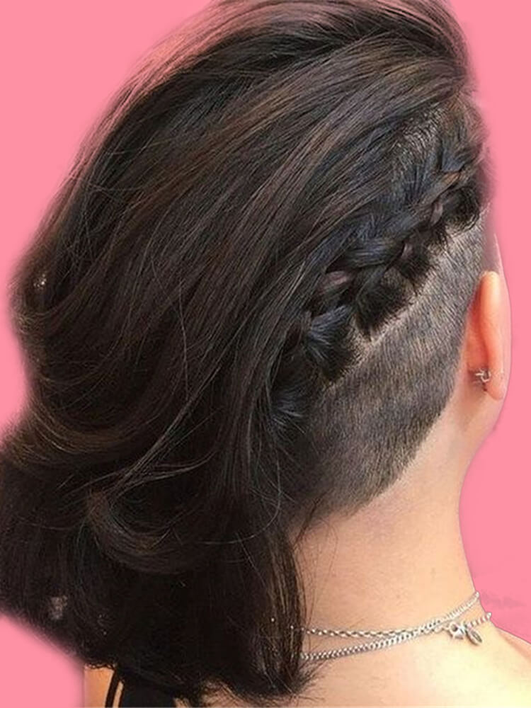 30+ Attractive Chic Undercut Hairstyles Designs to try this Summer 29