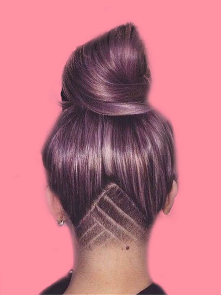 30+ Attractive Chic Undercut Hairstyles Designs to try this Summer 4