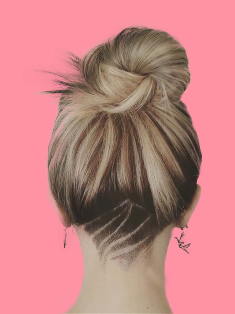 30+ Attractive Chic Undercut Hairstyles Designs to try this Summer 5