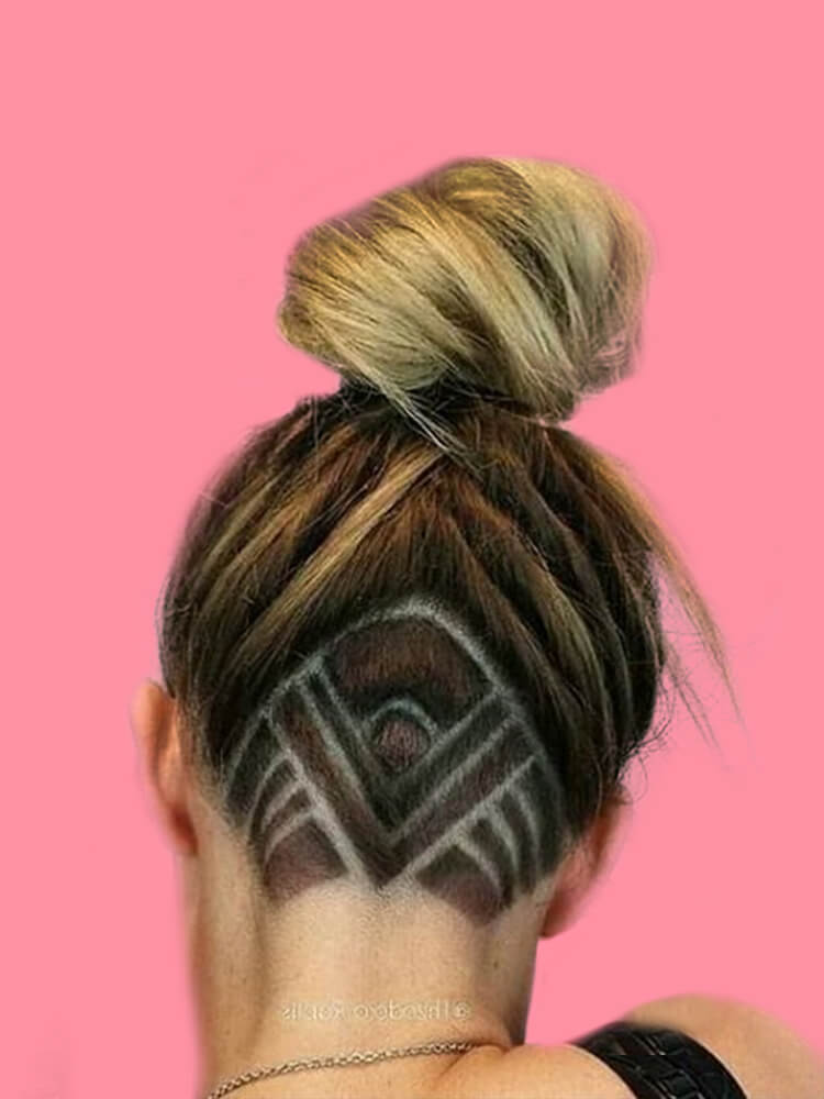 30+ Attractive Chic Undercut Hairstyles Designs to try this Summer 6