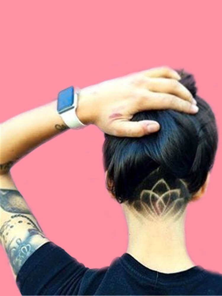 30+ Attractive Chic Undercut Hairstyles Designs to try this Summer 7