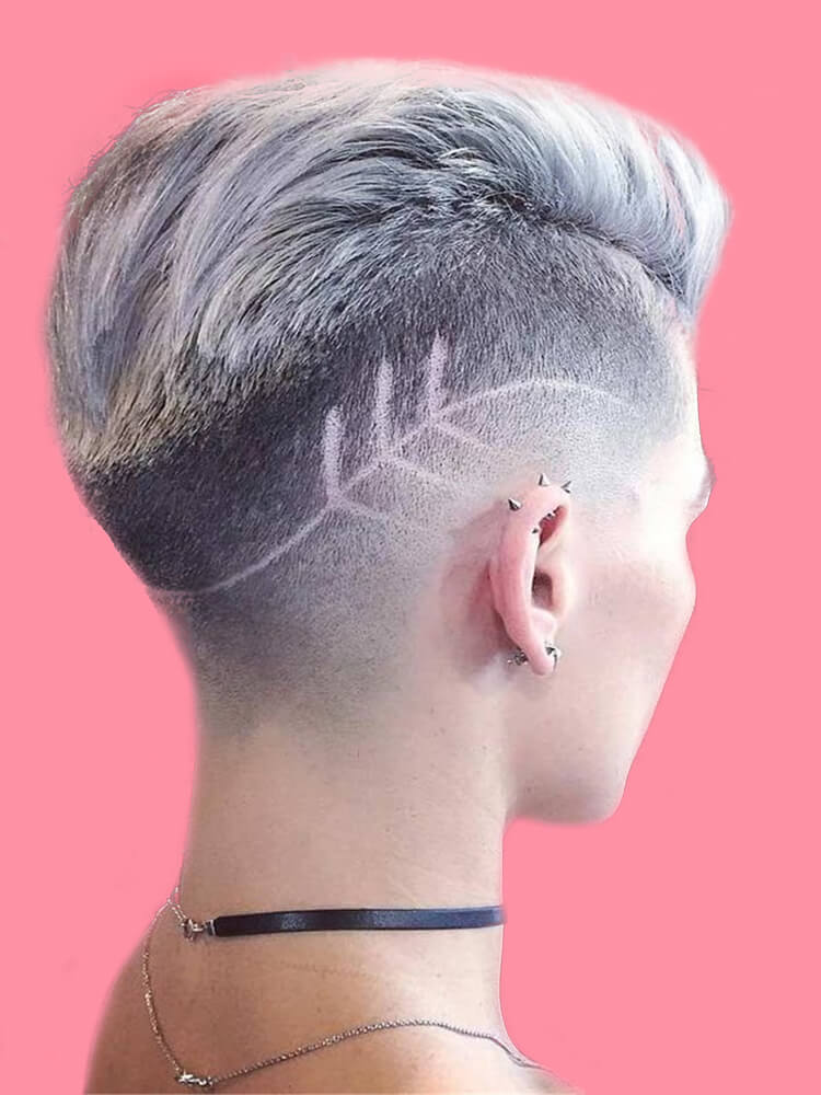30+ Attractive Chic Undercut Hairstyles Designs to try this Summer 9