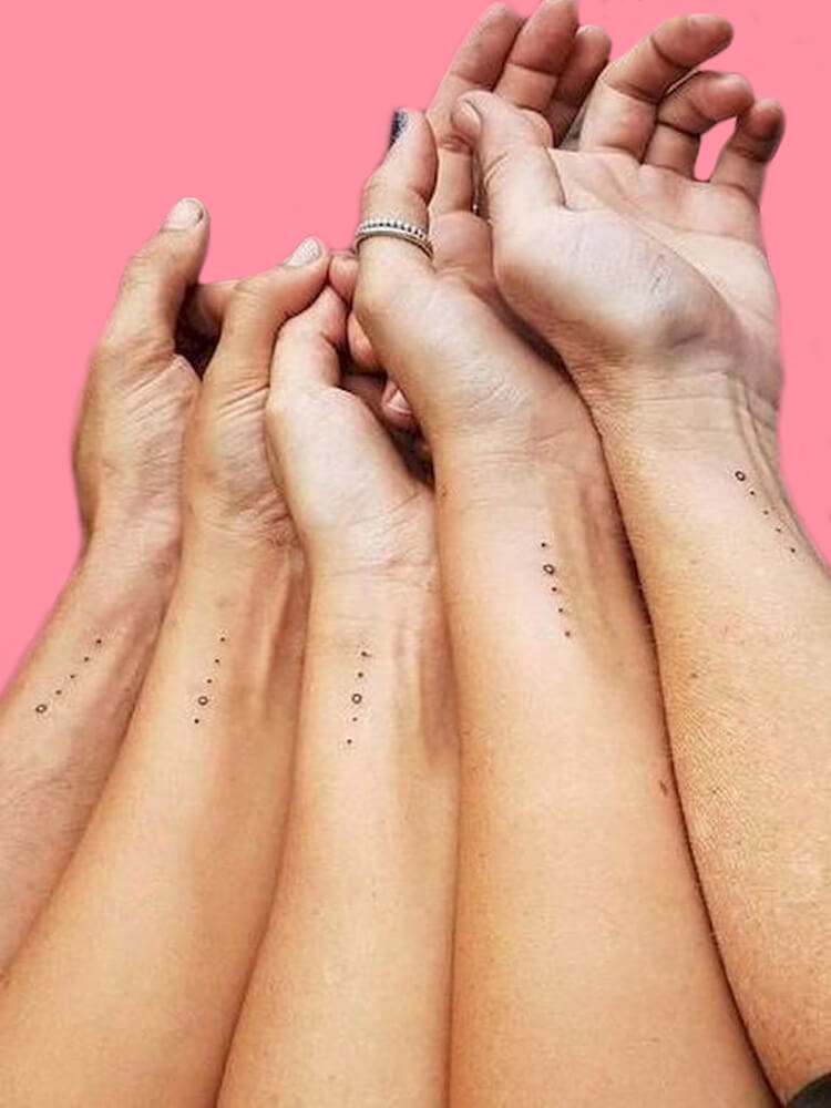 30+ Meaningful Matching Tattoos Designs to Try for Ladies and Sisters 13