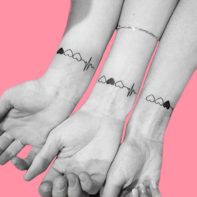 30+ Meaningful Matching Tattoos Designs to Try for Ladies and Sisters 15