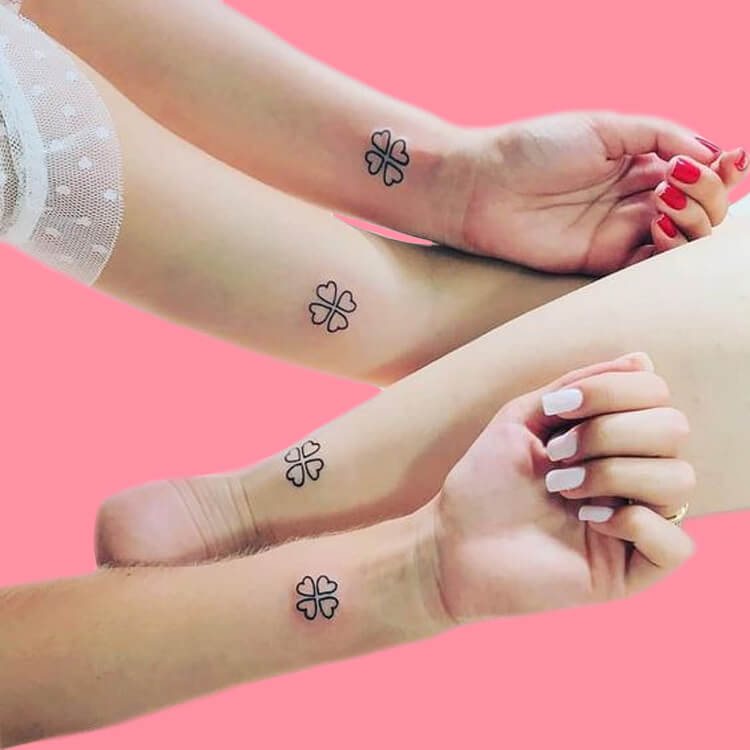 30+ Meaningful Matching Tattoos Designs to Try for Ladies and Sisters 19