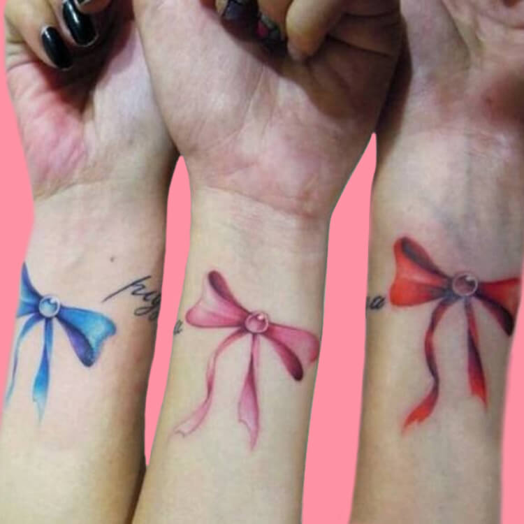 30+ Meaningful Matching Tattoos Designs to Try for Ladies and Sisters 24