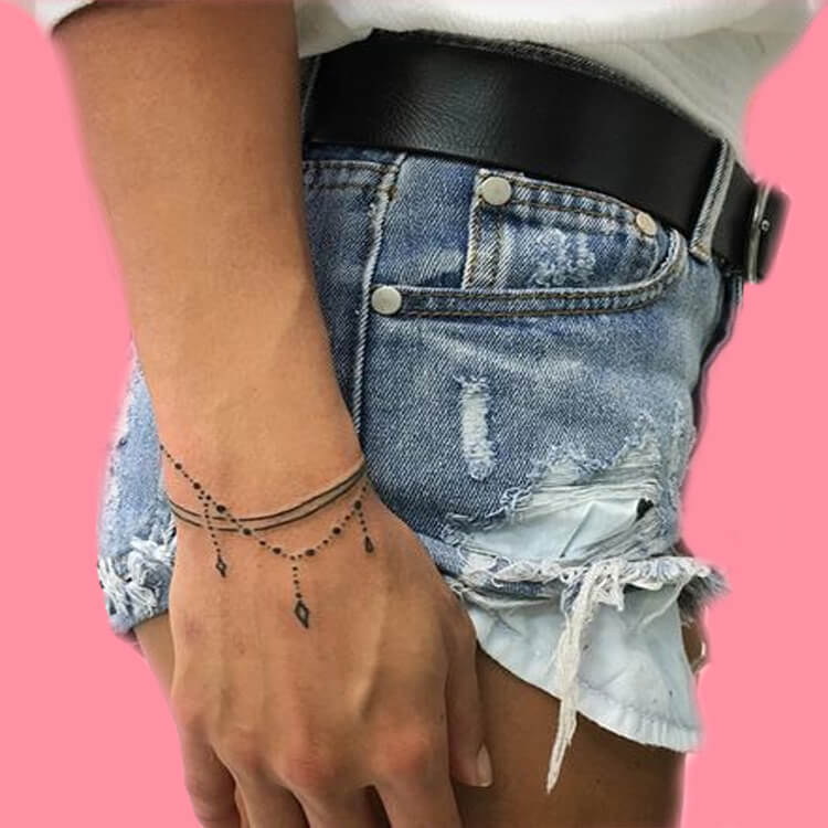 42 Mini Wrist Tattoo Designs to try in this Summer 20