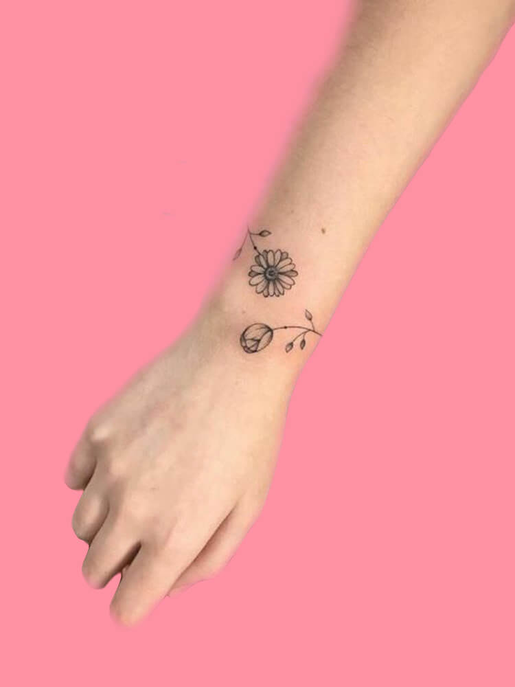 42 Mini Wrist Tattoo Designs to try in this Summer 42