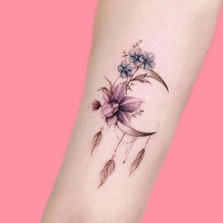 44+ Wonderful Foot Tattoos to try on foot and ankle 2019 Summer 10