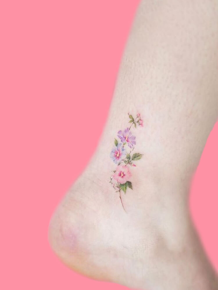 44+ Wonderful Foot Tattoos to try on foot and ankle 2019 Summer 2