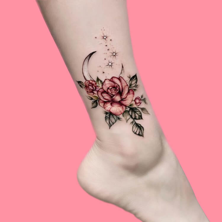 44+ Wonderful Foot Tattoos to try on foot and ankle 2019 Summer 21