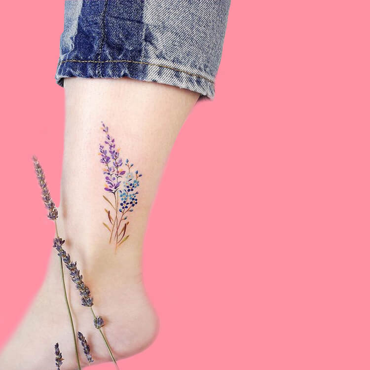 44+ Wonderful Foot Tattoos to try on foot and ankle 2019 Summer 22