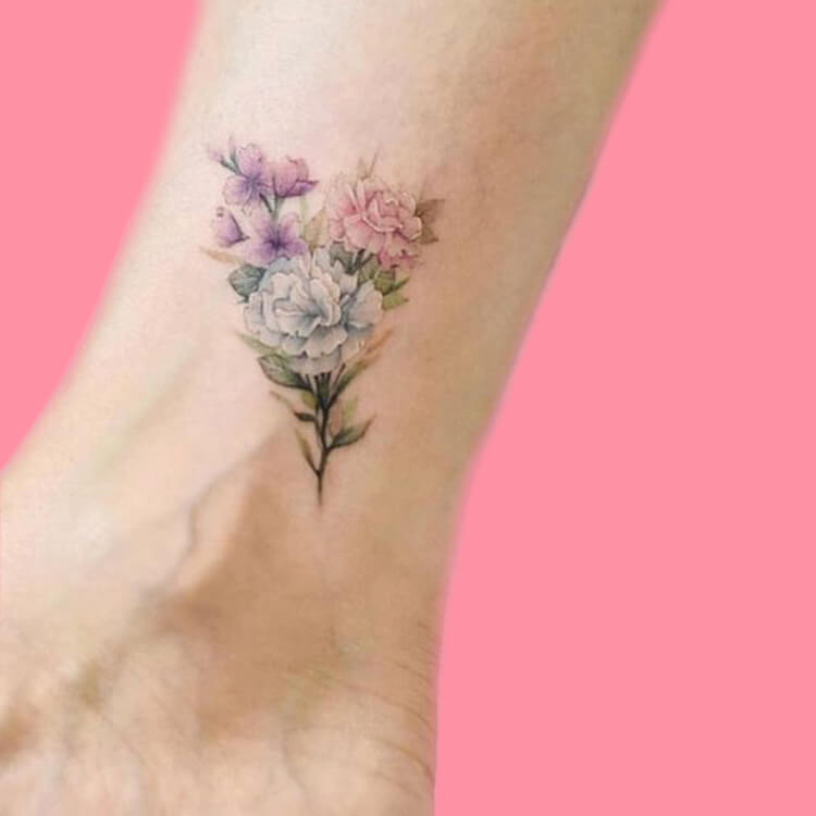 44+ Wonderful Foot Tattoos to try on foot and ankle 2019 Summer 24