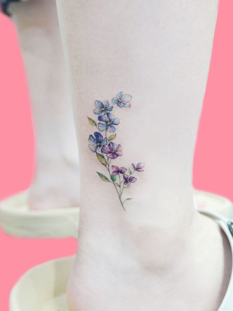 44+ Wonderful Foot Tattoos to try on foot and ankle 2019 Summer 3