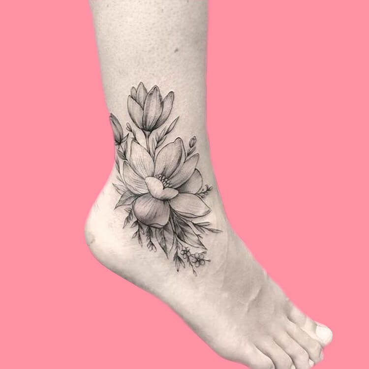 44+ Wonderful Foot Tattoos to try on foot and ankle 2019 Summer 39