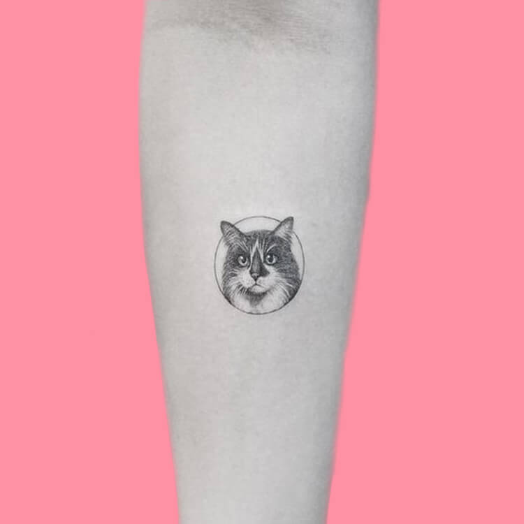 54 Cutest Cat Tattoo Designs to try 31