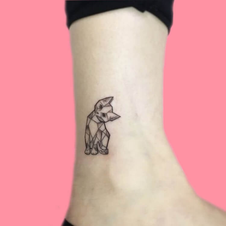 54 Cutest Cat Tattoo Designs to try 32