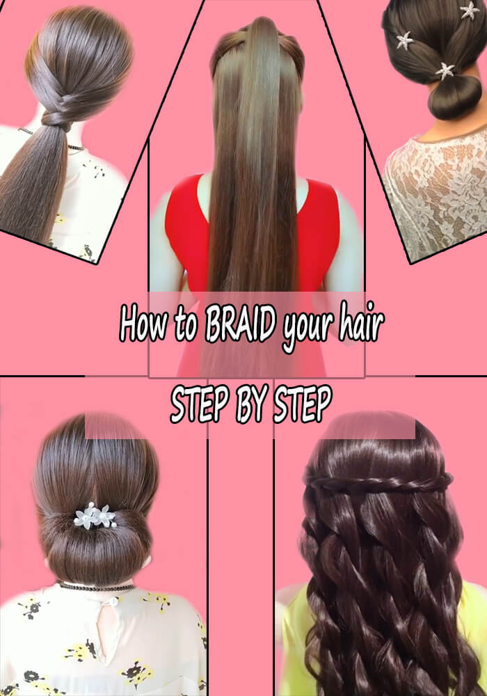 How to BRAID your hair STEP BY STEP 5-10