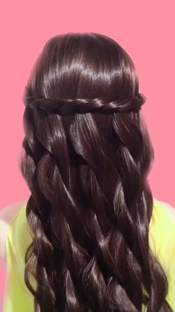 How to BRAID your hair STEP BY STEP 9