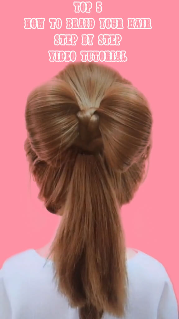 Top 5 How to braid your hair step by step 2