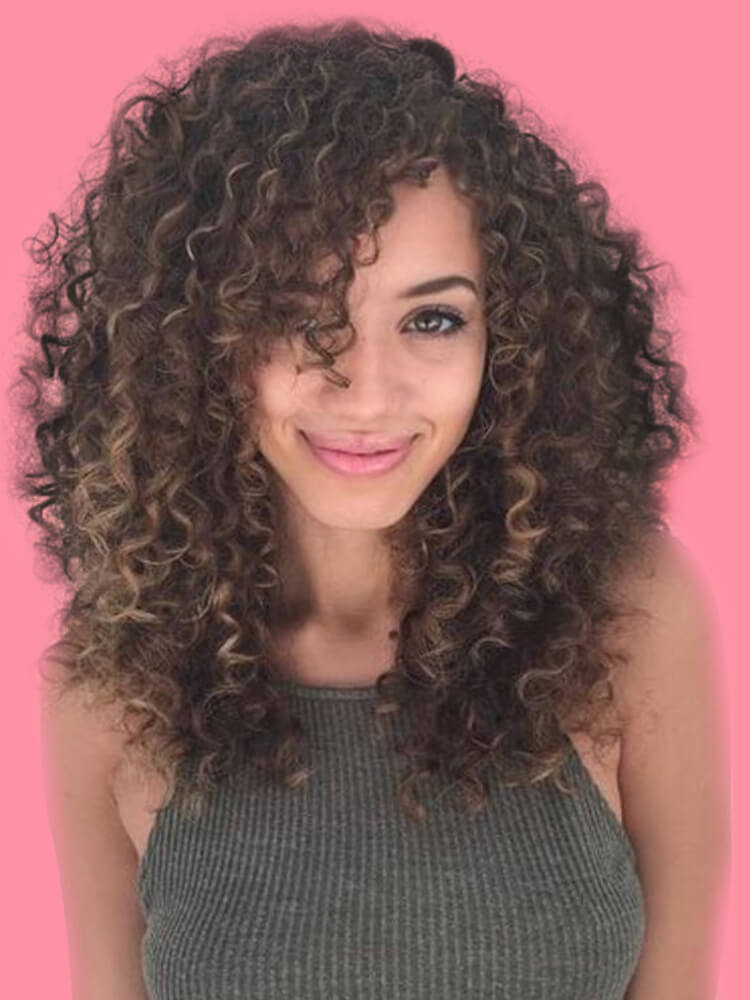 10 Stunning Long Curly Thick Hairstyles Designs in this Summer 3