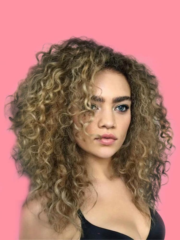 10 Stunning Long Curly Thick Hairstyles Designs in this Summer 4