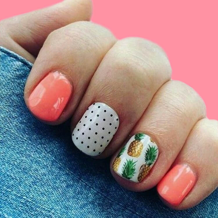 20 Cool Summer Fruit Nail Art Ideas to try 10
