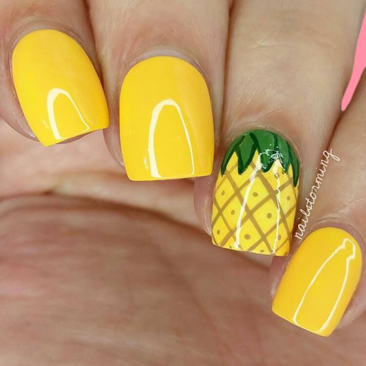 20 Cool Summer Fruit Nail Art Ideas to try 12