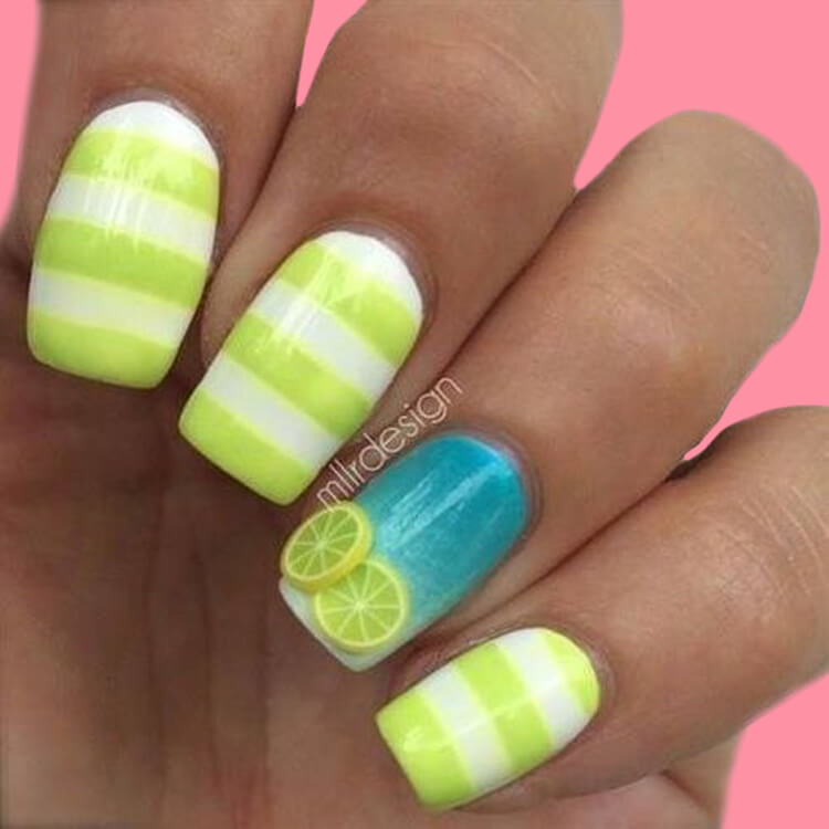 20 Cool Summer Fruit Nail Art Ideas to try 14