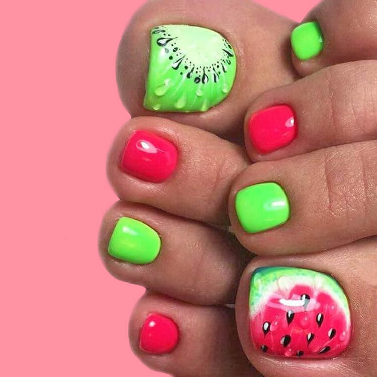 20 Cool Summer Fruit Nail Art Ideas to try 15