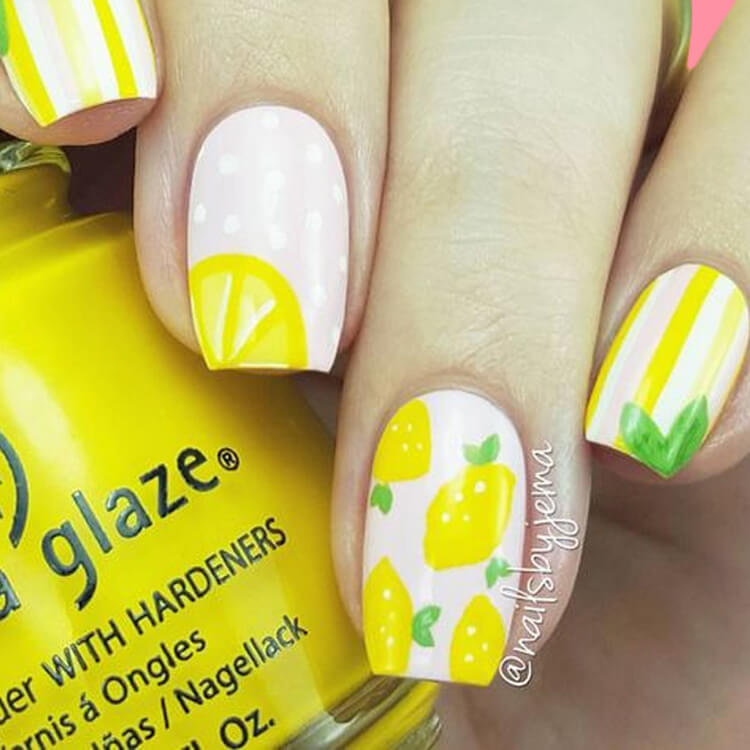 20 Cool Summer Fruit Nail Art Ideas to try 17