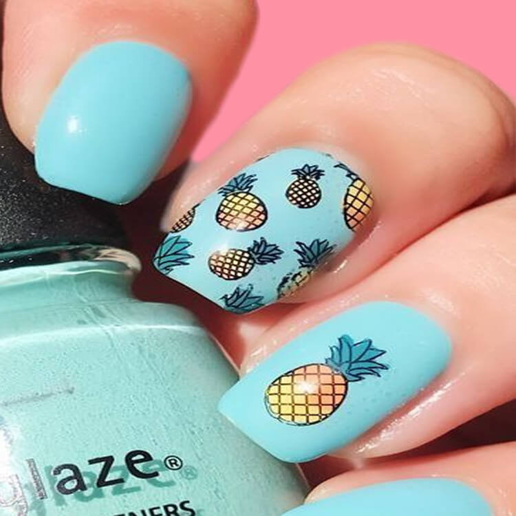 20 Cool Summer Fruit Nail Art Ideas to try 19