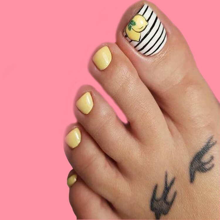 20 Cool Summer Fruit Nail Art Ideas to try 3